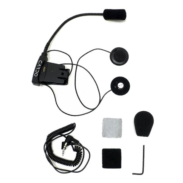 Základna pro otevřené přilby pro Cardo SCALA RIDER SOLO / Q2 / FM / TEAMSET Pro (1ks)