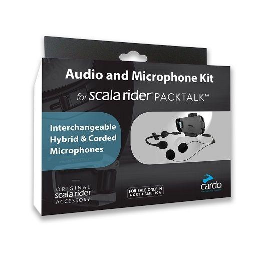 Základna pro integrální/otevřené přilby pro Cardo SCALA RIDER PACKTALK/SMARTPACK (1ks)