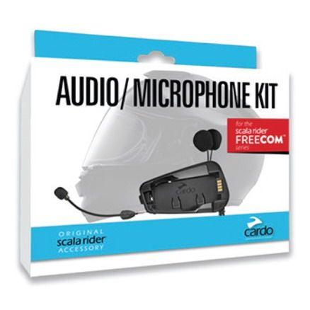 Audio kit Cardo FREECOM 1/2/4 pro integrální i otevřené přilby