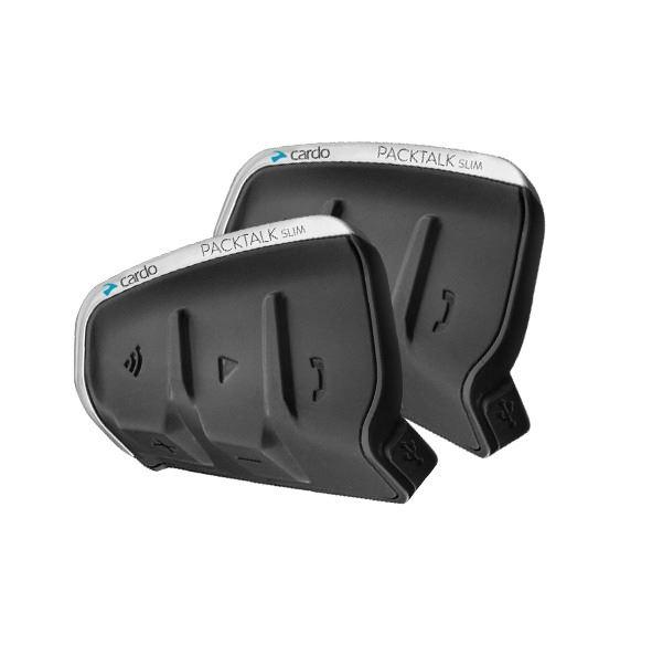 PACKTALK Slim (JBL) DUO - Interkom na motocykl CARDO (DMC technologie) pro 2 přilby